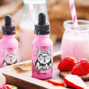MOMO Pink Me, vapeways, vape shop kildare, vape shop portarlington, vape shop newbridge, Strawberries, milk,