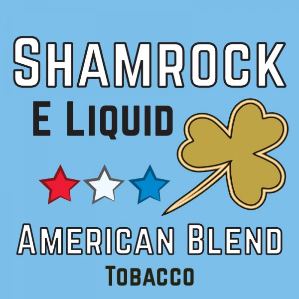 American Blend Tobacco eliquid, Shamrock eliquid, vapeways ejuice, liqua american blend, 50/50 eliquid
