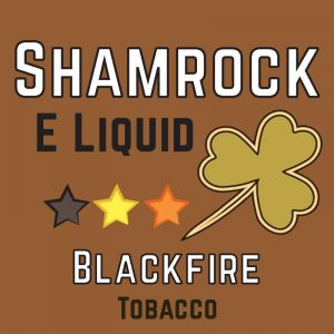 Blackfire Tobacco eliquid, Shamrock eliquid, vapeways ejuice, hale Blackfire, 50/50 eliquid