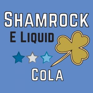 Cola Shamrock eliquid, cola bottles eliquid
