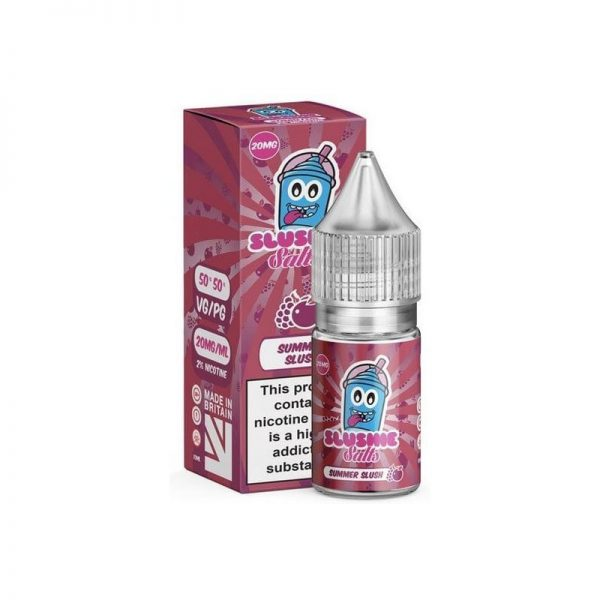 A Summer flavoured mix of apple and sweet grape in a icy summer slushie flavoured salt nicotine
